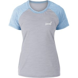 XCEL Seaside Short-Sleeve Ventx Rashguard - Girls'