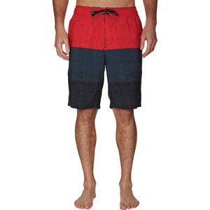 Spyder Swim Hydro Series Textured Stripe Eboard Short - Men's