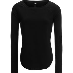 Yogalicious Boat Neck Long-Sleeve Top - Women's