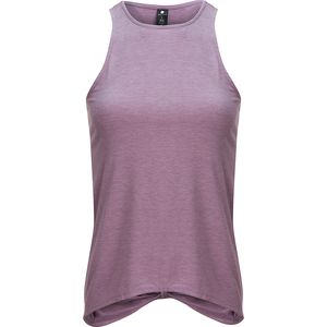 Yogalicious High Neck Tank Top with Tie Back - Women's