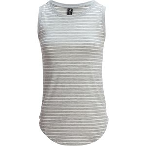Yogalicious High Neck Stripe Tank Top - Women's