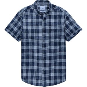 Zip Code Plaid Button-Up Shirt - Men's