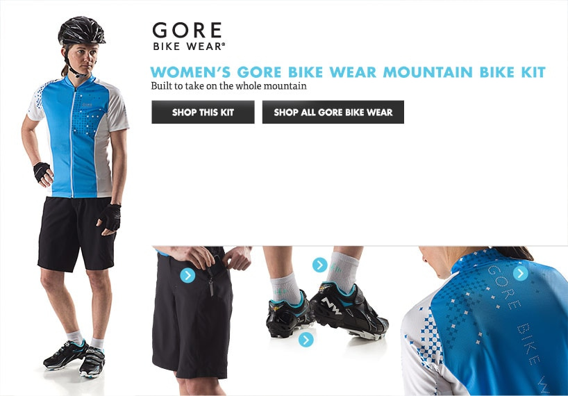 Mens Gore Mountain Bike Kit