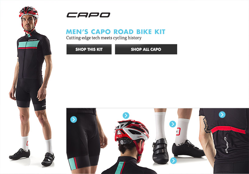 Mens Capo Road Bike Kit