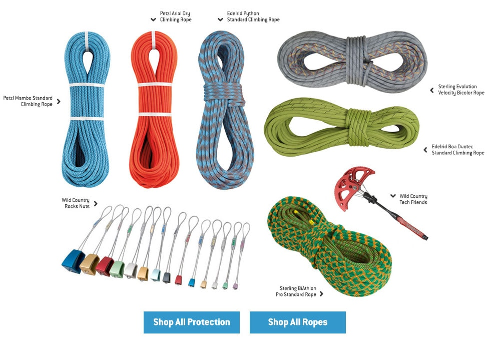 Protection and Ropes