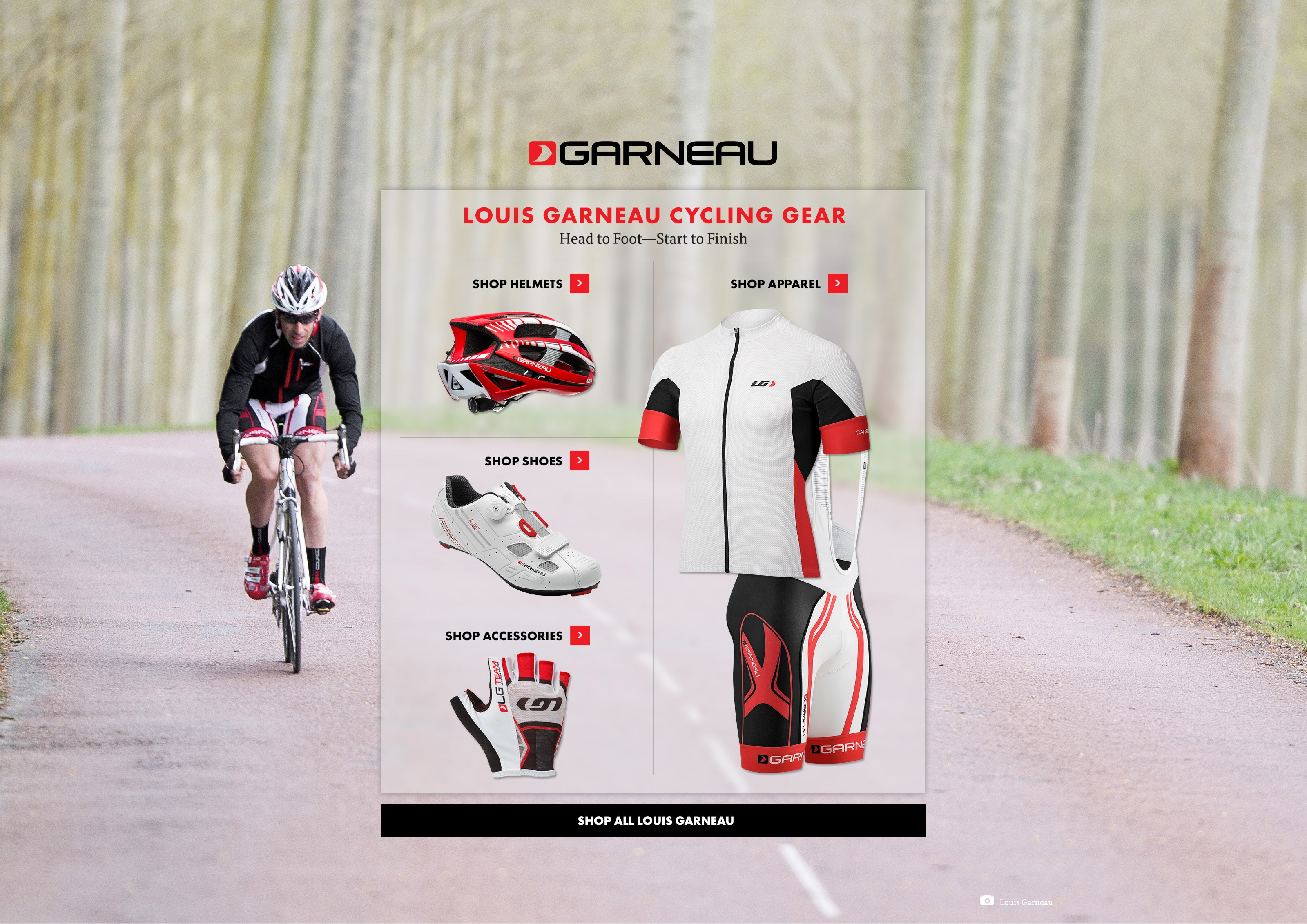 Louis Garneau Cycling Gear