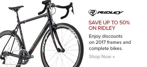 Save Up To 50% On Ridley