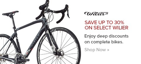 Save up to 30% on Select Wilier