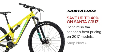Save up to 40% on Santa Cruz