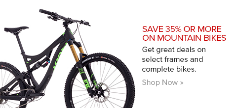 Save 35% or More on Mountain Bikes