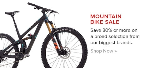 Mountain Bikes 30% Off