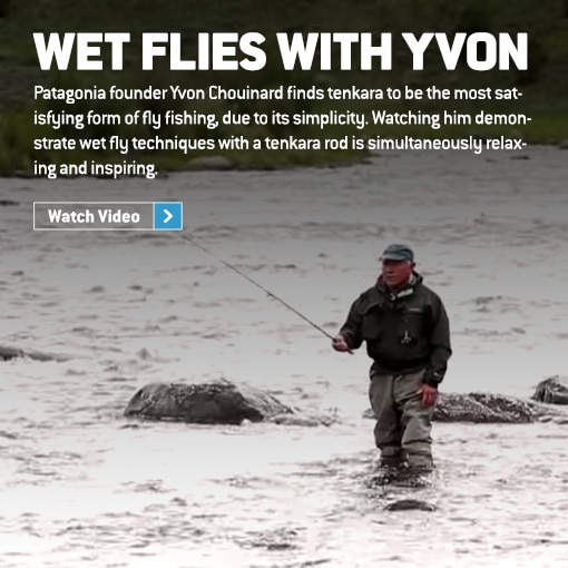 Wet Flies With Yvon