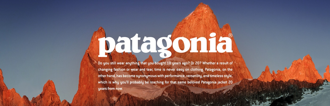 Patagonia - Backcountry Collection