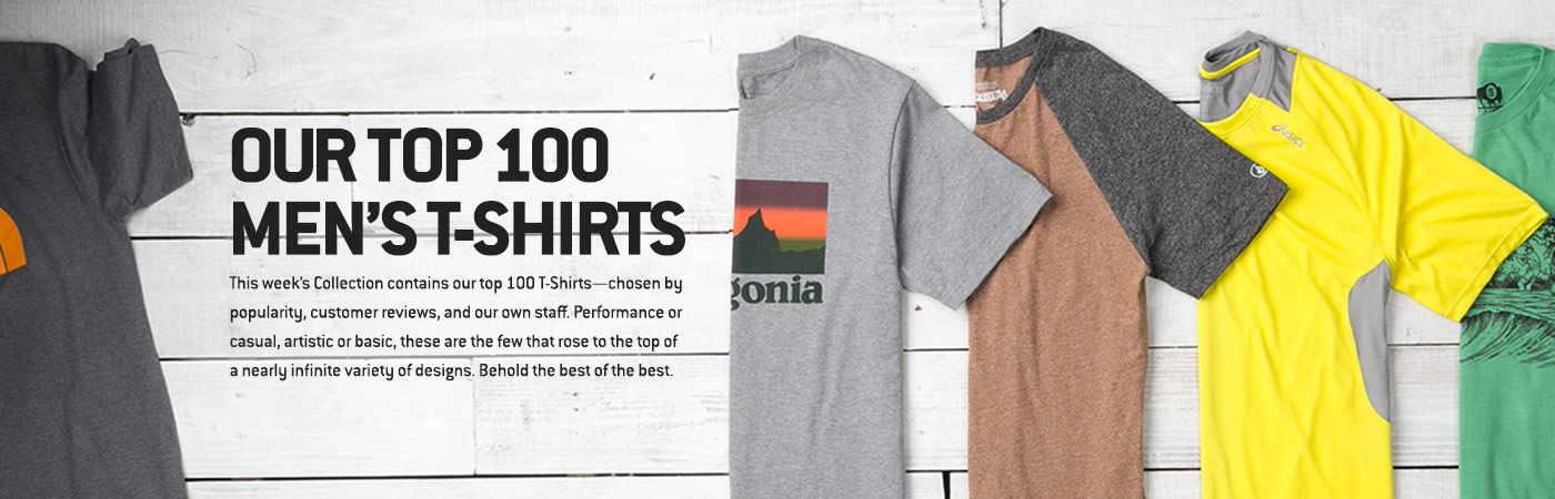 Backcountry Collections - Our Top 100 T-shirts