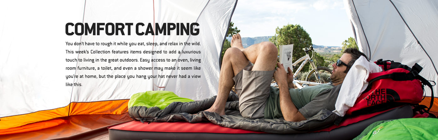 Comfort Camping - Backcountry Collections