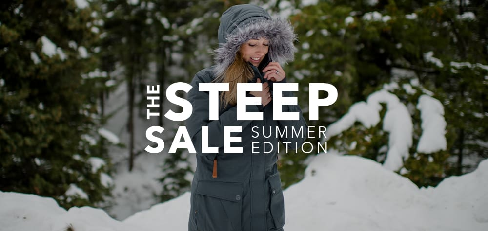 Steep Sale Summer Edition: Dreaming Of Winter