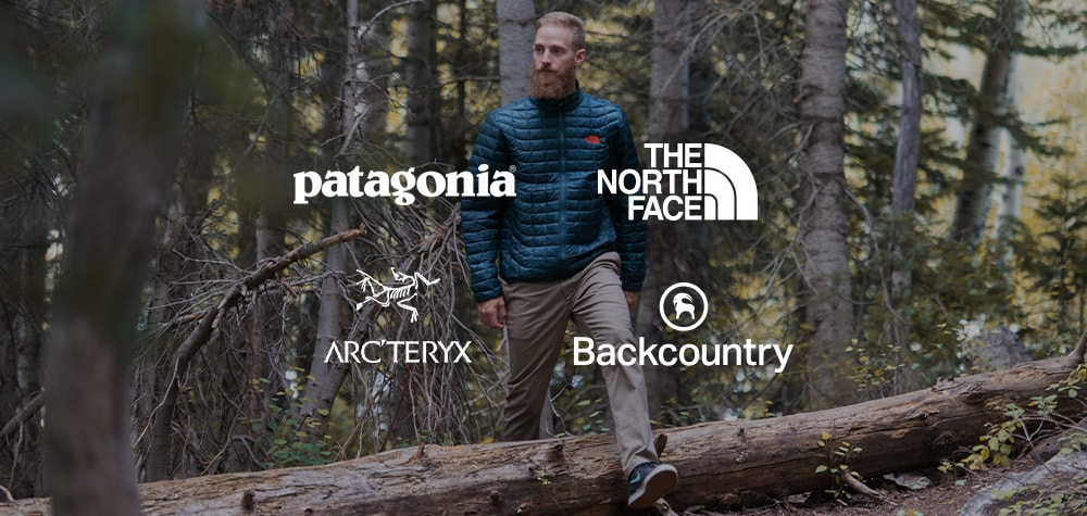 Patagonia, Backcountry Gear & Apparel, The North Face, & Arc'teryx